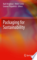 Packaging For Sustainability Book PDF