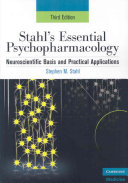 Stahl's essential psychopharmacology.