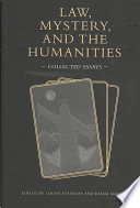 Law Mystery And The Humanities