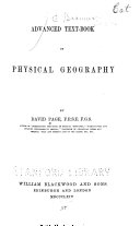 Advanced Text book of Physical Geography