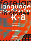 Foreign Language Assessment In Grades K 8