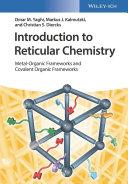 Introduction to Reticular Chemistry Pdf/ePub eBook
