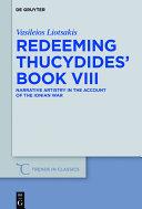 Redeeming Thucydides  Book VIII