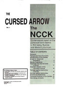 The Cursed Arrow: The NCCK contemporary report on the politicised land clashes in Rift Valley, Nyanza, and Western Provinces