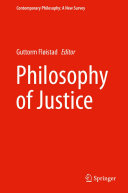 Pdf Philosophy of Justice Telecharger
