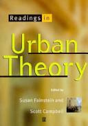 Readings in Urban Theory