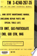 Ds Gs And Depot Maintenance Manual Including Repair Parts And Special Tools List  Book PDF
