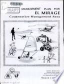 Draft Management Plan for El Mirage Cooperative Management Area