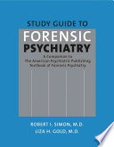 Study Guide to Forensic Psychiatry Book