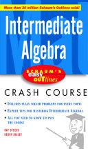 Schaum s Easy Outline Intermediate Algebra