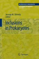 Pdf Inclusions in Prokaryotes Telecharger
