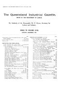 The Queensland Industrial Gazette
