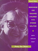 Resources for Teaching Children with Diverse Abilities