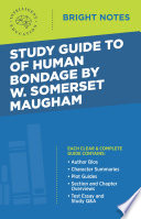 Read Online Study Guide to Of Human Bondage by W Somerset Maugham For Free