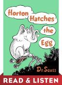 Horton Hatches the Egg: Read & Listen Edition Pdf/ePub eBook