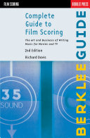 Pdf Complete Guide to Film Scoring Telecharger