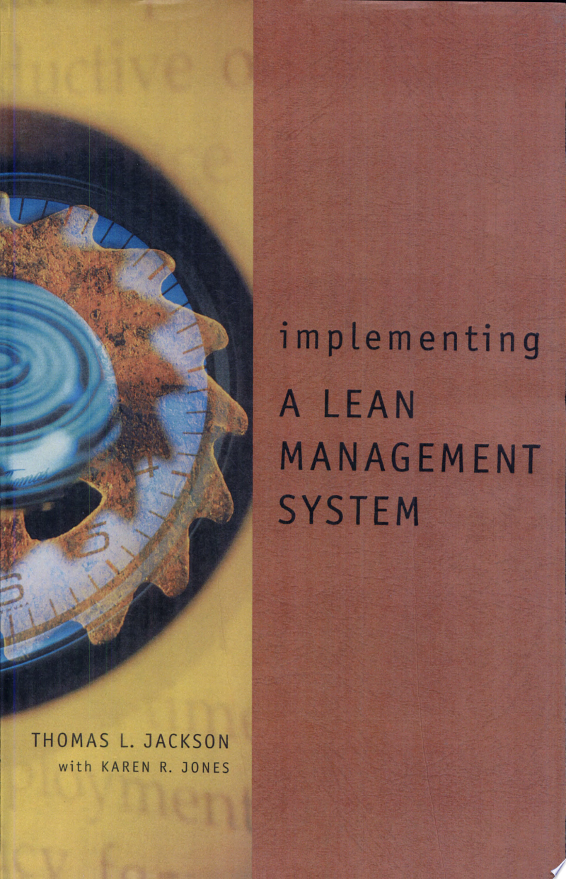 Implementing a Lean Management System banner backdrop