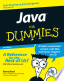 List of Dummies For Java E-book