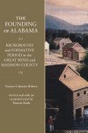 The Founding of Alabama