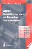 Digitale Modulationsverfahren mit Sinusträger  : Anwendung in der Funktechnik