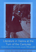 Literature in Vienna at the Turn of the Centuries ebook