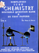Icse Chemidtry Solvable Question Bank   25 Test Papers