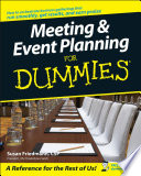 """Meeting and Event Planning For Dummies"" by Susan Friedmann"
