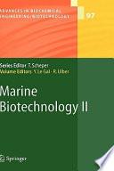 Marine Biotechnology II Book