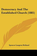 Democracy and the Established Church  1885