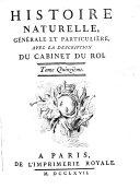 Histoire naturelle, générale et particuliére: Quadrupeds Par M. de Buffon et M. Daubeton. 1753-67