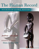 The Human Record  Sources of Global History  Volume II  Since 1500