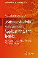 Learning Analytics  Fundaments  Applications  and Trends