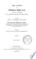 The Works of Thomas Reid Book