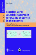 Stateless Core  A Scalable Approach for Quality of Service in the Internet