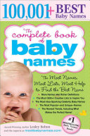 The Complete Book of Baby Names ebook