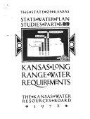 State Water Plan Studies  Kansas long range water requirements