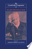 The Cambridge Companion To Schopenhauer Book