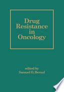 Drug Resistance In Oncology Book PDF