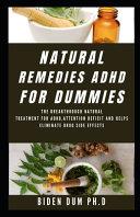 Natural Remedies ADHD for Dummies