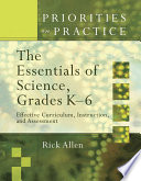The Essentials of Science, Grades K-6