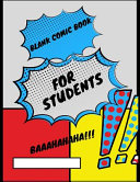 Blank Comic Book for Students