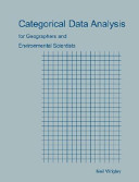 Categorical Data Analysis For Geographers And Environmental Scientists Book PDF