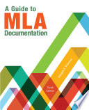 A Guide to MLA Documentation Book