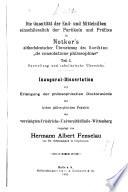 Die Quantität der End- und Mittelsilben einschliesslich der Partikeln und Präfixe in Notker's althochdeutscher übersetzung des Boethius:
