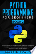Python Programming for Beginners   Book 2