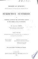 Subjective Synthesis