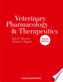 Veterinary Pharmacology and Therapeutics Book