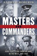 Masters and Commanders Pdf/ePub eBook