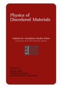 Physics of Disordered Materials