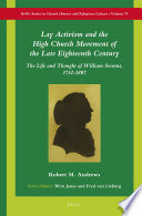 Lay Activism and the High Church Movement of the Late Eighteenth Century
